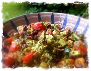 RECIPE - Bean salad - body