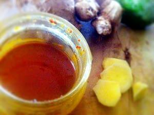 Recipe - iced green tea body