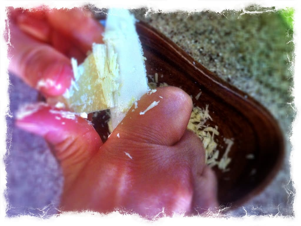 Recipe - Chocolate - Shave butter