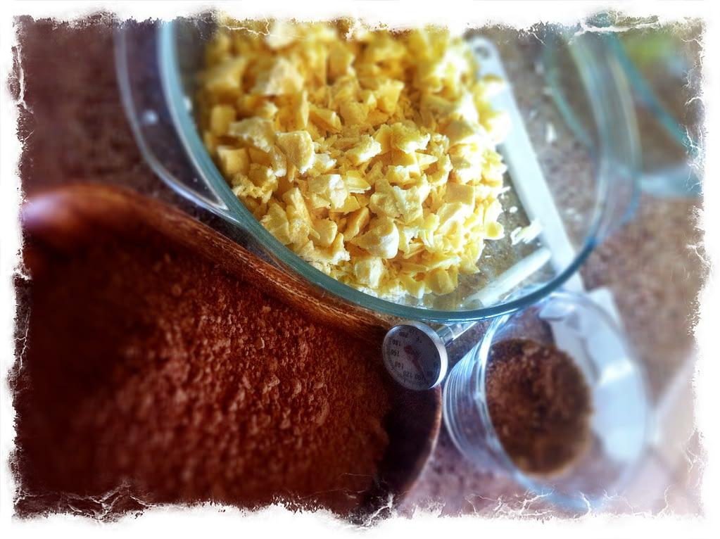 Recipe - Chocolate -Ingredients